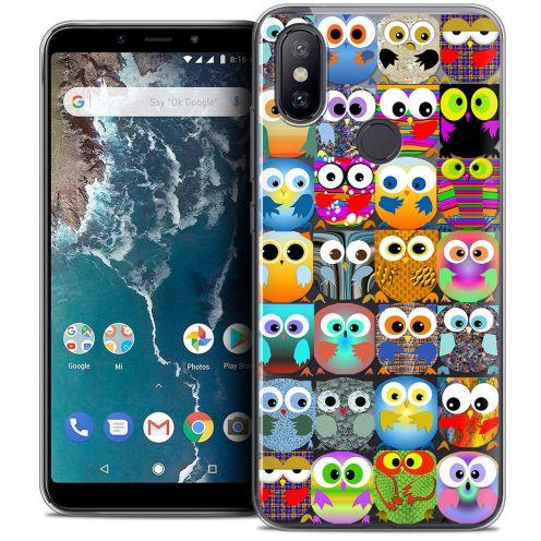 "Coque Crystal Gel Xiaomi Mi A2 (5.99"") Extra Fine Claude - Hibous"