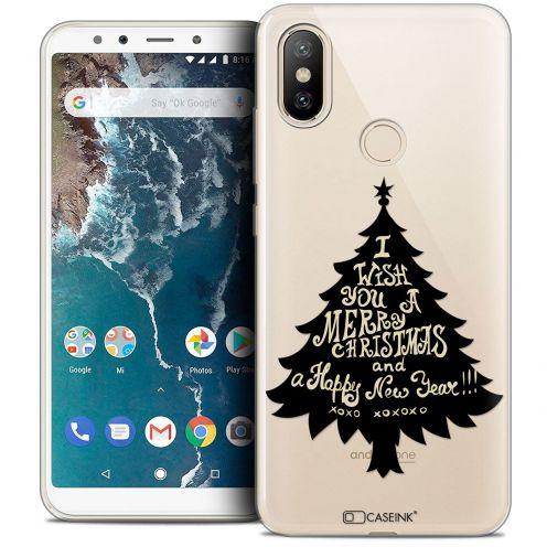 "Coque Crystal Gel Xiaomi Mi A2 (5.99"") Extra Fine Noël 2017 - XOXO Tree"