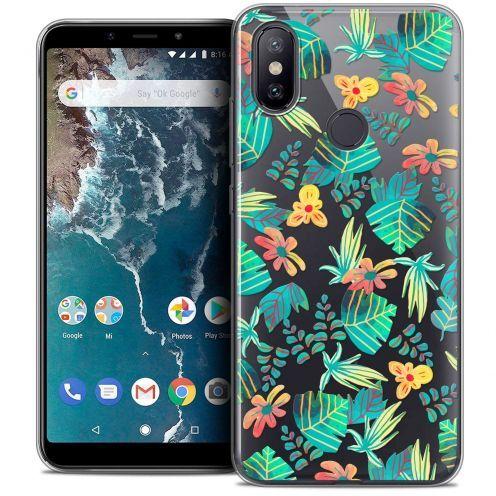 "Coque Crystal Gel Xiaomi Mi A2 (5.99"") Extra Fine Spring - Tropical"