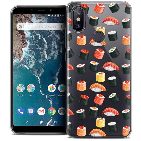 "Coque Crystal Gel Xiaomi Mi A2 (5.99"") Extra Fine Foodie - Sushi"