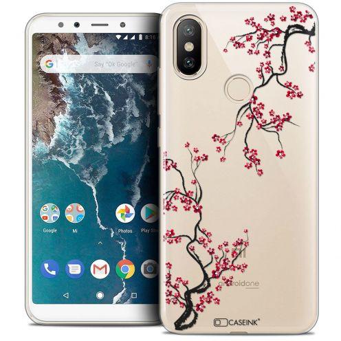 """Coque Crystal Gel Xiaomi Mi A2 (5.99"""") Extra Fine Summer - Sakura"""