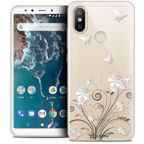 "Coque Crystal Gel Xiaomi Mi A2 (5.99"") Extra Fine Summer - Papillons"