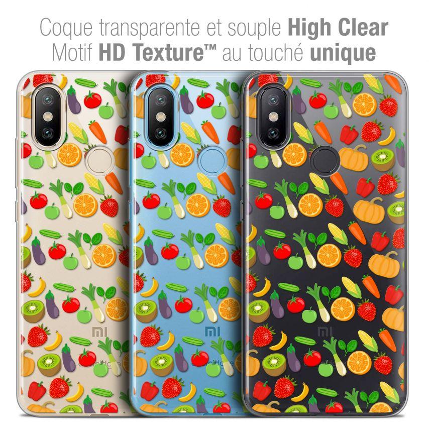 """Coque Crystal Gel Xiaomi Mi A2 (5.99"""") Extra Fine Foodie - Healthy"""