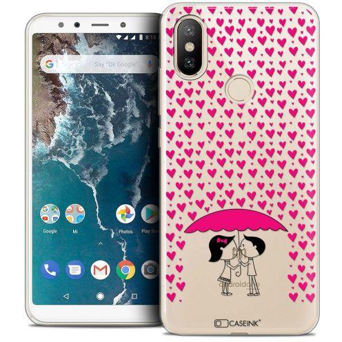 """Coque Crystal Gel Xiaomi Mi A2 (5.99"""") Extra Fine Love - Pluie d'Amour"""