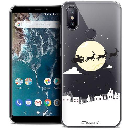 """Coque Crystal Gel Xiaomi Mi A2 (5.99"""") Extra Fine Noël 2017 - Flying Stanta"""