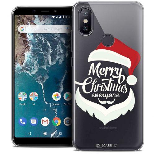 "Coque Crystal Gel Xiaomi Mi A2 (5.99"") Extra Fine Noël 2017 - Merry Everyone"
