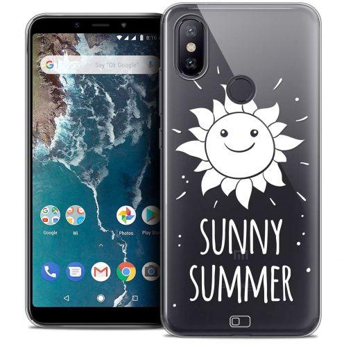 "Coque Crystal Gel Xiaomi Mi A2 (5.99"") Extra Fine Summer - Sunny Summer"