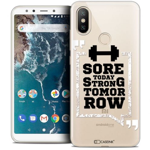 "Coque Crystal Gel Xiaomi Mi A2 (5.99"") Extra Fine Quote - Strong Tomorrow"