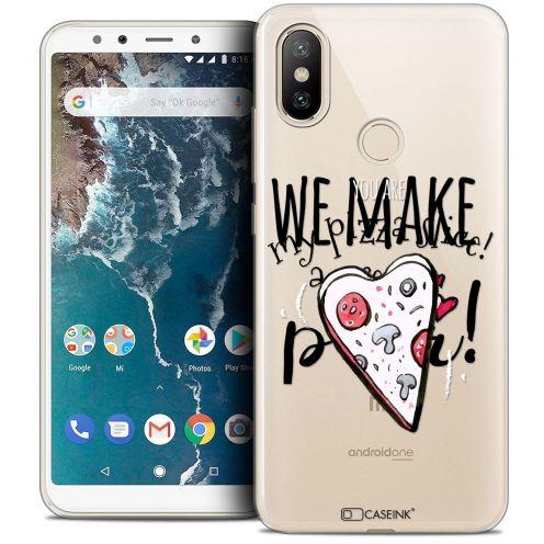 "Coque Crystal Gel Xiaomi Mi A2 (5.99"") Extra Fine Love - We Make Great Pair"