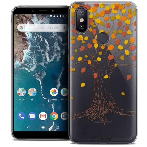 "Coque Crystal Gel Xiaomi Mi A2 (5.99"") Extra Fine Autumn 16 - Tree"