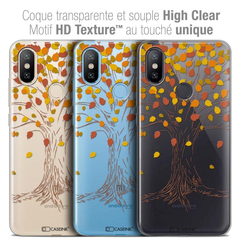 "Coque Crystal Gel Xiaomi Mi A2 (5.99"") Extra Fine Autumn 16 - Tree"