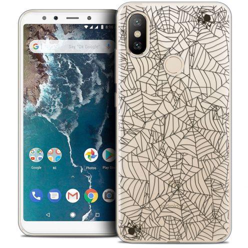 "Coque Crystal Gel Xiaomi Mi A2 (5.99"") Extra Fine Halloween - Spooky Spider"