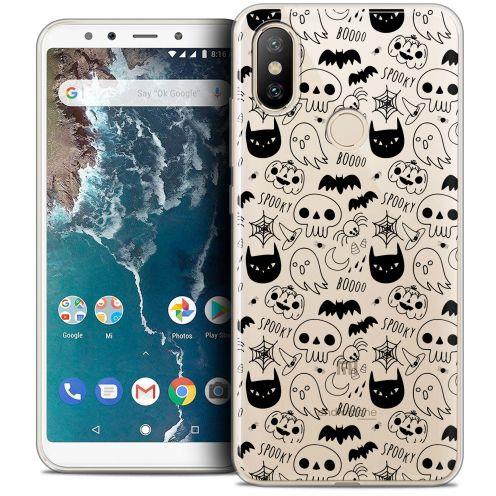"Coque Crystal Gel Xiaomi Mi A2 (5.99"") Extra Fine Halloween - Spooky"