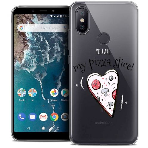 "Coque Crystal Gel Xiaomi Mi A2 (5.99"") Extra Fine Love - Hey Handsome !"