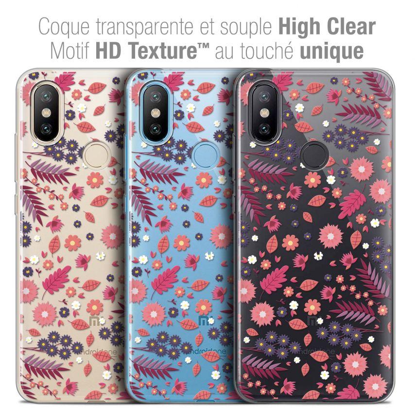 """Coque Crystal Gel Xiaomi Mi A2 (5.99"""") Extra Fine Spring - Printemps"""