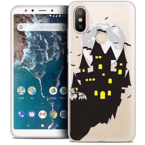 "Coque Crystal Gel Xiaomi Mi A2 (5.99"") Extra Fine Halloween - Castle Dream"