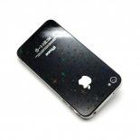 Vue détaillée de Films de Protection Sticker  iPhone 4 / 4S  3D Stars / Etoiles Avant - Arrière