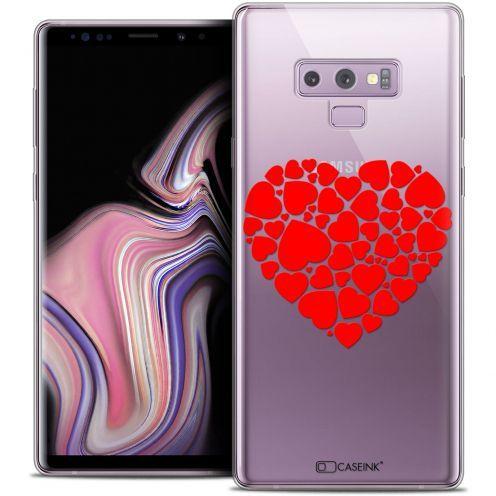 """Coque Crystal Gel Samsung Galaxy Note 9 (6.4"""") Extra Fine Love - Coeur des Coeurs"""