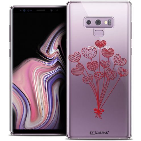 """Coque Crystal Gel Samsung Galaxy Note 9 (6.4"""") Extra Fine Love - Ballons d'amour"""