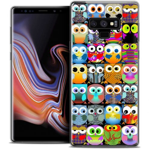 "Coque Crystal Gel Samsung Galaxy Note 9 (6.4"") Extra Fine Claude - Hibous"
