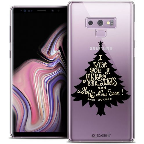 "Coque Crystal Gel Samsung Galaxy Note 9 (6.4"") Extra Fine Noël 2017 - XOXO Tree"