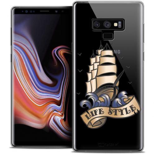 """Coque Crystal Gel Samsung Galaxy Note 9 (6.4"""") Extra Fine Tatoo Lover - Life Style"""