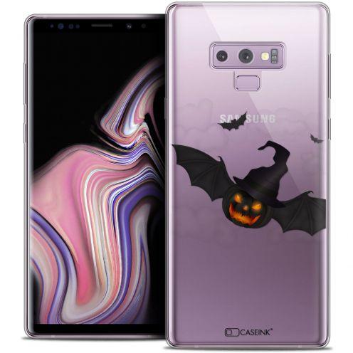 "Coque Crystal Gel Samsung Galaxy Note 9 (6.4"") Extra Fine Halloween - Chauve Citrouille"