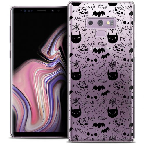 "Coque Crystal Gel Samsung Galaxy Note 9 (6.4"") Extra Fine Halloween - Spooky"