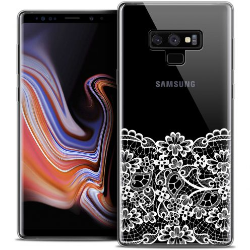 "Coque Crystal Gel Samsung Galaxy Note 9 (6.4"") Extra Fine Spring - Bas dentelle"