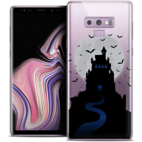 "Coque Crystal Gel Samsung Galaxy Note 9 (6.4"") Extra Fine Halloween - Castle Nightmare"