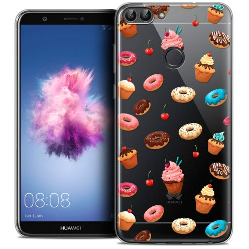 "Coque Crystal Gel Huawei P Smart (5.7"") Extra Fine Foodie - Donuts"