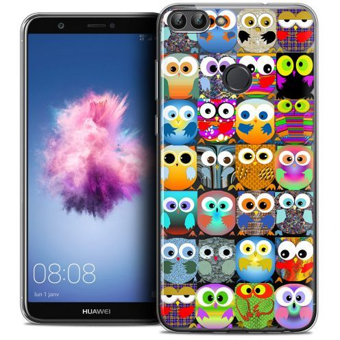 "Coque Crystal Gel Huawei P Smart (5.7"") Extra Fine Claude - Hibous"