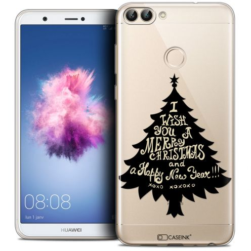 "Coque Crystal Gel Huawei P Smart (5.7"") Extra Fine Noël 2017 - XOXO Tree"