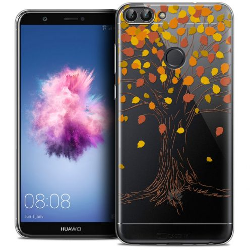 """Coque Crystal Gel Huawei P Smart (5.7"""") Extra Fine Autumn 16 - Tree"""