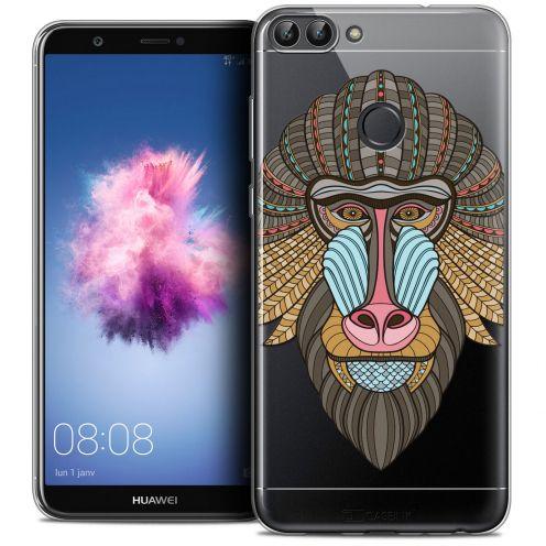 "Coque Crystal Gel Huawei P Smart (5.7"") Extra Fine Summer - Babouin"