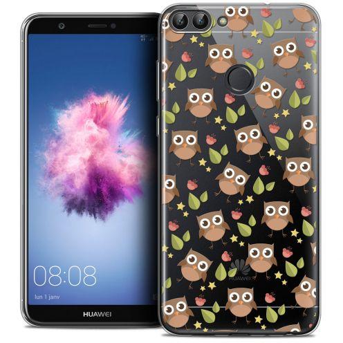 "Coque Crystal Gel Huawei P Smart (5.7"") Extra Fine Summer - Hibou"