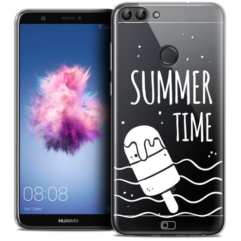 """Coque Crystal Gel Huawei P Smart (5.7"""") Extra Fine Summer - Summer Time"""