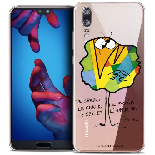 """Coque Gel Huawei P20 (5.8"""") Extra Fine Les Shadoks® - Chaud ou Froid"""