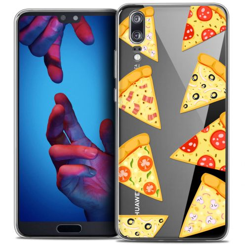 "Coque Crystal Gel Huawei P20 (5.8"") Extra Fine Foodie - Pizza"