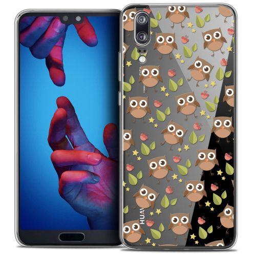 "Coque Crystal Gel Huawei P20 (5.8"") Extra Fine Summer - Hibou"