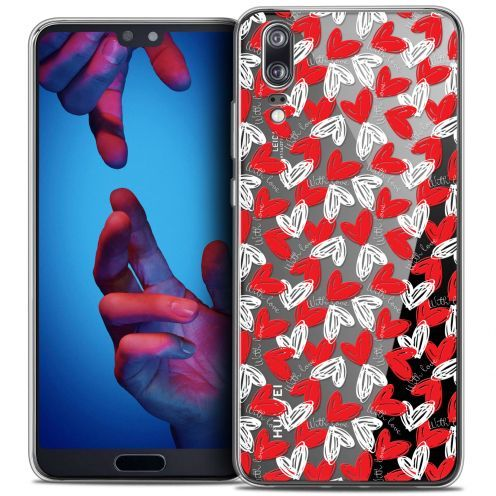 "Coque Crystal Gel Huawei P20 (5.8"") Extra Fine Love - With Love"