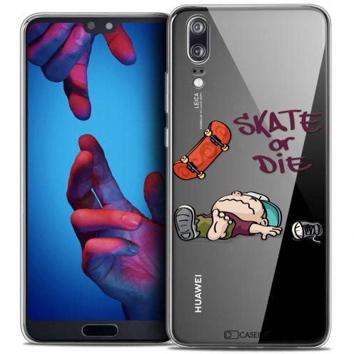 """Coque Crystal Gel Huawei P20 (5.8"""") Extra Fine BD 2K16 - Skate Or Die"""