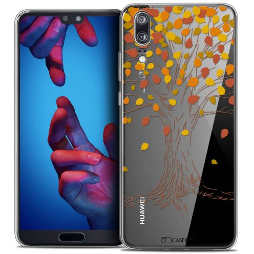 """Coque Crystal Gel Huawei P20 (5.8"""") Extra Fine Autumn 16 - Tree"""