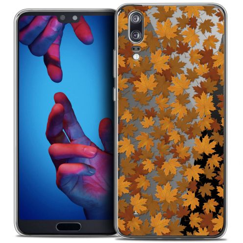 "Coque Crystal Gel Huawei P20 (5.8"") Extra Fine Autumn 16 - Feuilles"