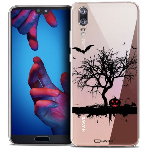 "Coque Crystal Gel Huawei P20 (5.8"") Extra Fine Halloween - Devil's Tree"