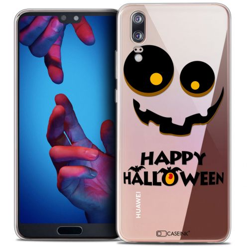 "Coque Crystal Gel Huawei P20 (5.8"") Extra Fine Halloween - Happy"