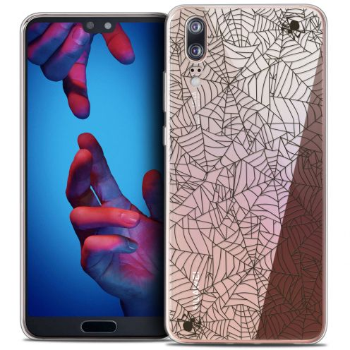 "Coque Crystal Gel Huawei P20 (5.8"") Extra Fine Halloween - Spooky Spider"