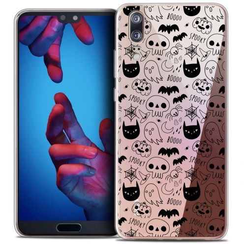 "Coque Crystal Gel Huawei P20 (5.8"") Extra Fine Halloween - Spooky"