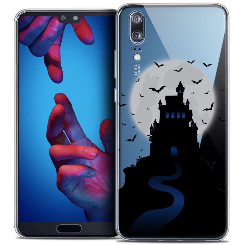 "Coque Crystal Gel Huawei P20 (5.8"") Extra Fine Halloween - Castle Nightmare"
