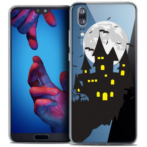 "Coque Crystal Gel Huawei P20 (5.8"") Extra Fine Halloween - Castle Dream"